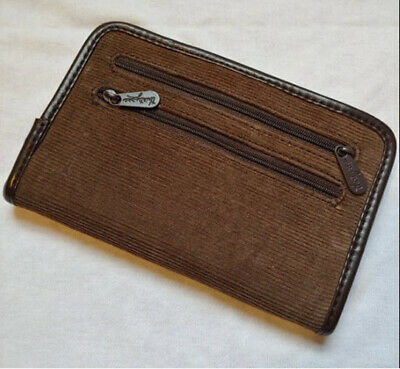 Thirty One 31 Timeless Wallet Brown Corduroy Clutch Retired Organizer NWT