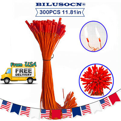 300 piece pack 11.81in Wire For Fireworks Firing System+USA Ship