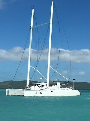 49ft custom cruising catamaran - fully tested and seaworthy