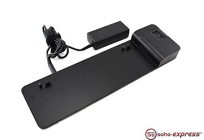 Hp 2013 Ultraslim Docking Station With Power Adapter 727347-001 732252-001