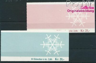 Norway 938MH-939MH 2 stamp booklet MNH 1985 christmas (8940420