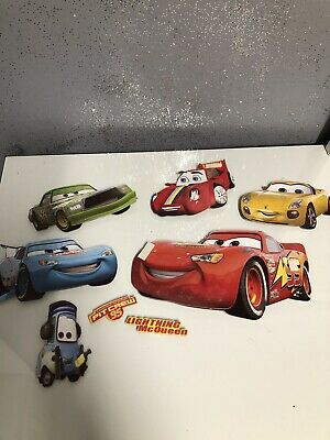 Sandylion Pixar Disney Lightning McQueen Cars Stickers 10 Maxi Sheets RETIRED