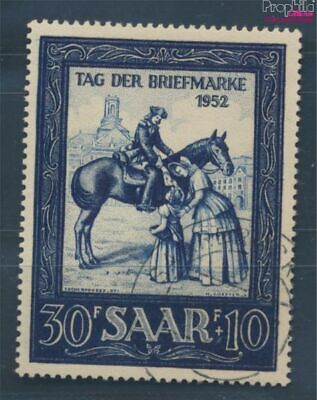 Saar 316 (complete issue) fine used / cancelled 1952 Day the Stamp (8209922