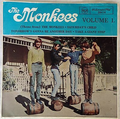 """Collectable - Original Single 45 """"The Monkees"""" Vol 1."""