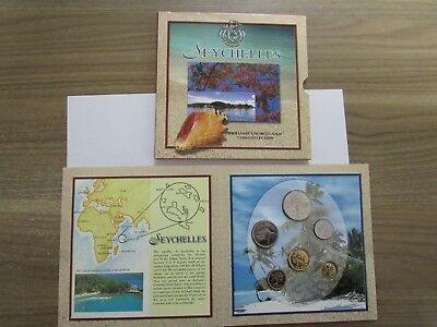 Seychelles Coins - Official Mixed Date Mint Set 2010-12 Brilliant Uncirculated