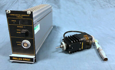 Melles Griot 17MST001 Stepper Motor Controlador + 17DRV001 Quickinstall