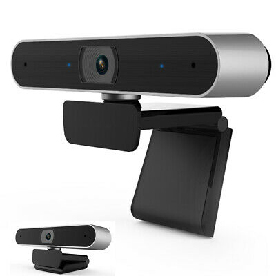 AU USB Auto Focusing Webcam Digital Full HD 1080P Camera Meeting with Microphone