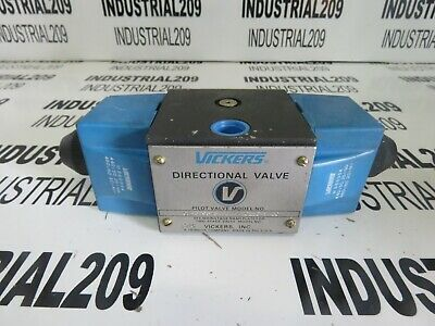 Vickers Hydraulic Directional Valve Dg4S4011Cm60 New