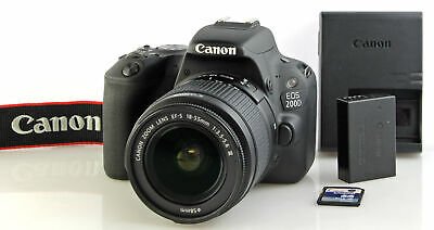 Canon EOS 200D Camera with Canon EFS AF 18-55mm mark III Zoom Lens - BOXED