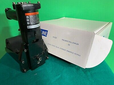 Uline Pneumatic Roll Feed Box Stapler 5/8""
