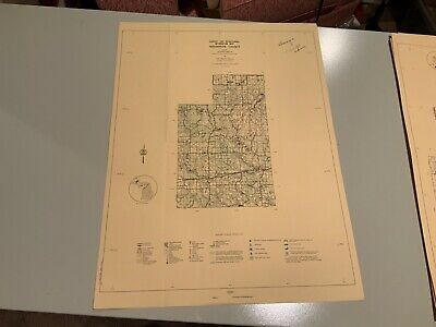 1974 South - Houghton County Michigan - DNR Highway & Recreation Information Map