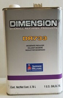 Auto Paint Sherwin Williams Pro Dr733 Urethane Reducer