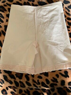 Vintage Playtex I Can't Believe It's A Girdle Shaper Granny Nude 2XL