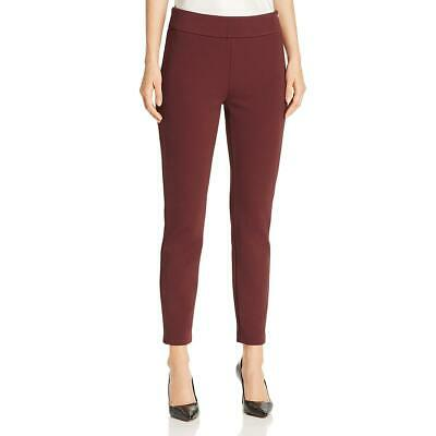 BOSS Hugo Boss Womens Telesta Red Jersey Skinny Pants Trousers 4 BHFO 8059