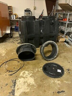 Grease trap likenew250 gallon great basin grease interceptor 92.9 rated capacity