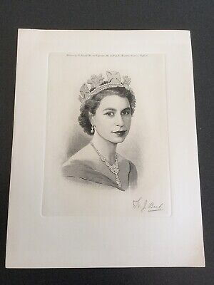 Queen Elizabeth Ii Coronation Portrait - 1953