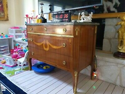 antique Fine French Louis XVI Sideboard or Buffet drawer quality piece