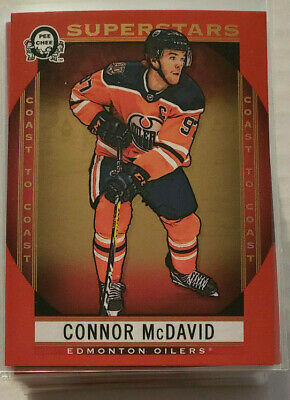 2018-19 OPC Coast to Coast Canadian Tire Red Superstars Lot of 50 Cards #101-150