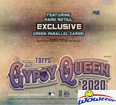 2020 Topps Gypsy Queen Baseball MASSIVE Factory Sealed 24 Pack Retail Box-144 Cd