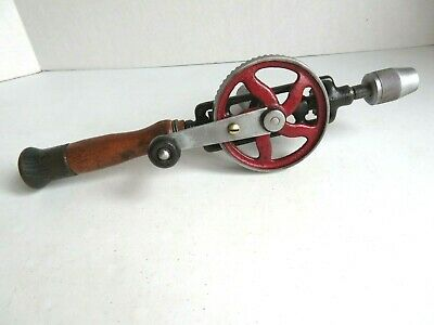 Rare Vintage Olson Hand Crank Drill in Working Condition, Japan, Egg Beater