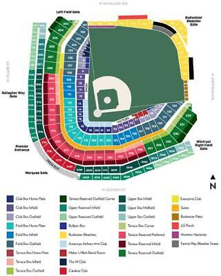 2 Chicago Cubs (Wrigley Field) vs. Milwaukee Brewers Tickets (06/29/20) UDI