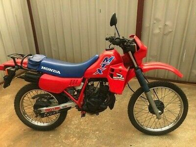Honda MTX50R 1986 watercooled 50cc 2 stroke registerable road trail jap import