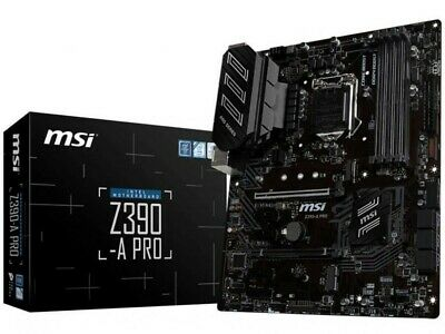 MSI Z390-A PRO Intel LGA 1151 ATX Gaming Motherboard For Intel 8th & 9th Gen CPU