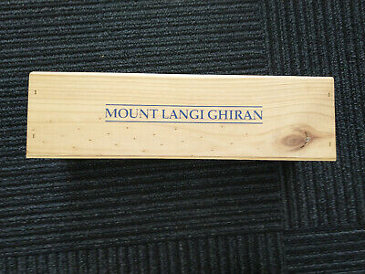 Single Bottle Wooden Wine Box Mount Langi Ghiran