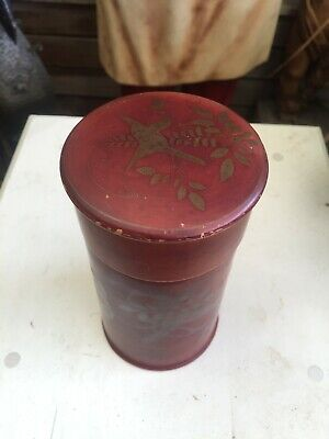 Antique Japanese Wooden Tea Caddy