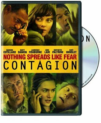 Contagion (2011) (DVD, 2012) [Region 1] Starring Matt Damon & Laurence Fishburne