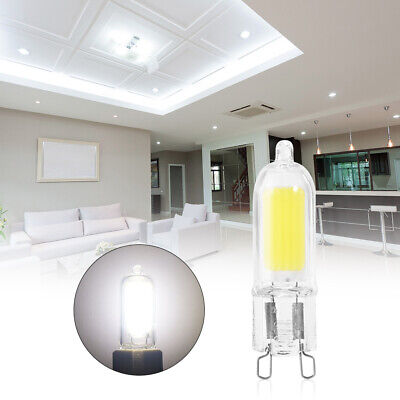 6X G9 8W LED Dimmable Capsule Ampoule Bulbe Lampe Light Clear Blanc Froid LD1217