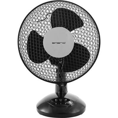 Ventilateur de table EMERIO FN-114201.1 25 W (Ø x h) 23 cm x 36 cm noir 1 pc(s)