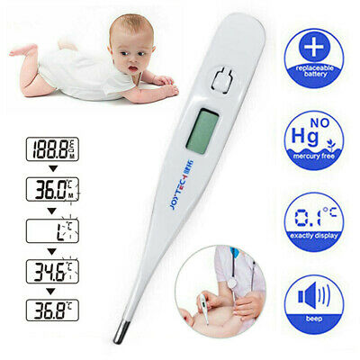 Oral LCD Digital Thermometer For Baby Kids & Adults Health Medical Thermometer