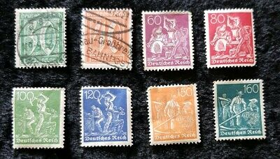8x 1921 GERMANY STAMP see pics for grading