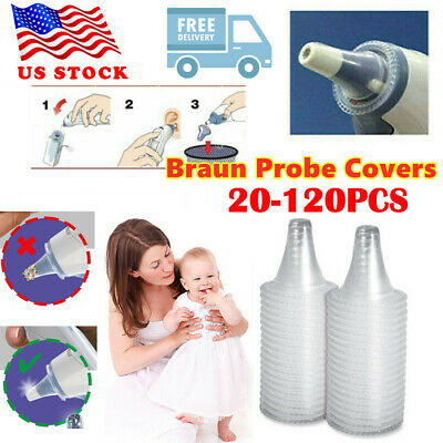 USA Braun ThermoScan Probe Covers Replacement Lens Filters for Ear Thermometer