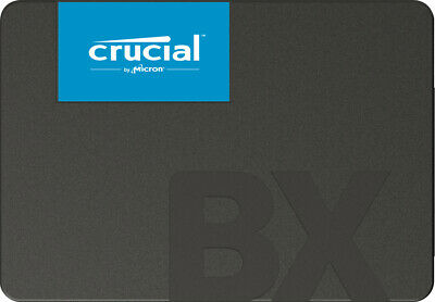 1TB Crucial BX500 2.5-inch Serial ATA 3D NAND Internal Solid State Drive