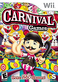 Carnival Games (Nintendo Wii, 2007)  Disc Only - Cleaned and Tested