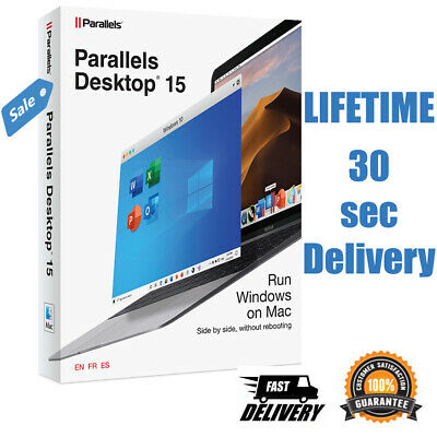 Parallels Desktop 15 for Mac | Full version multilingual | 30 seconds delivery