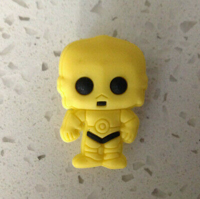 Star Wars C3PO for Crocs Shoes Jibbitz Wristband PVC Charm