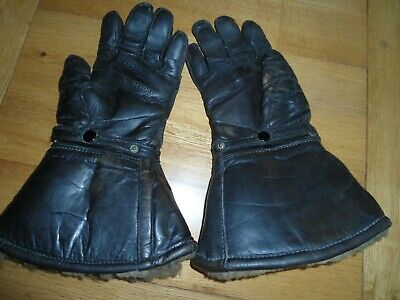 Vintage Slazenger motorcycle gloves