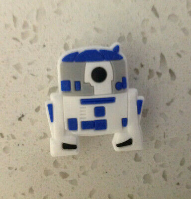 Star Wars R2D2 Charm for Crocs Shoes Jibbitz Wristband