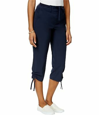 Style&Co. Womens Ruched Leg Casual Jogger Pants