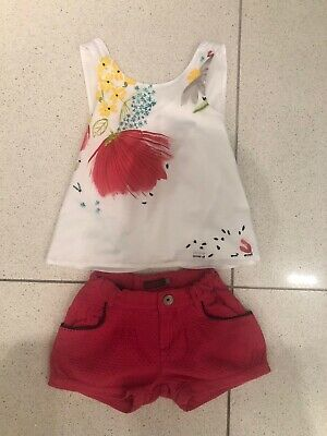 Girls Catimini Outfit Age 5