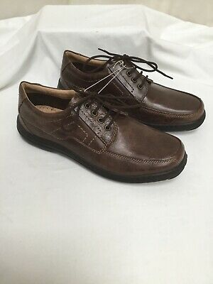 Men's LOTUS Brown Leather Lace Up Shoes UK9 BNWOT