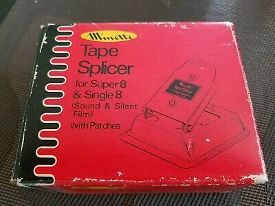 Minette Tape Splicer For Super 8 & Single 8