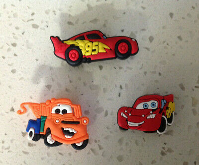 Disney Cars PVC Shoe Charms for your Crocs/Jibbitz Wristband