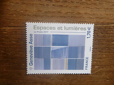 France 2017 Paintings By Genevieve Asse Mint Stamp