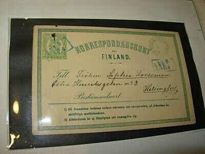 Finland Collection Stamps And Covers On Pages-All Older!