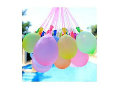 222 pcs 6 Bunch of Instant water Balloons, Self-Sealing, pre- tied water balloon