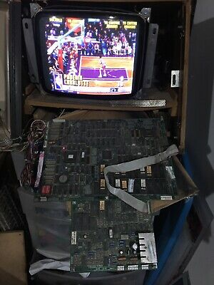 Nba Jam Tournament Edition Arcade Pcb Board Midway - Tested Working No Audio